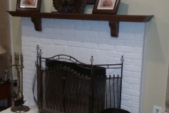 Tolbert Fireplace Before