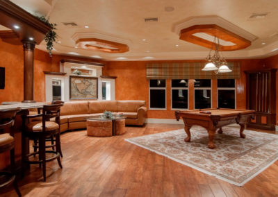 Basement renovation by Renovation and Leisure Concepts