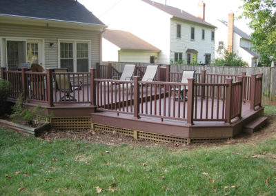 Deck design and build by Renovation and Leisure Concepts